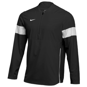 Nike Team Authentic Lightweight Coaches Jacket - Men's - Black/White/White