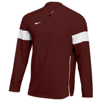 Nike Team Authentic Lightweight Coaches Jacket - Men's - Maroon