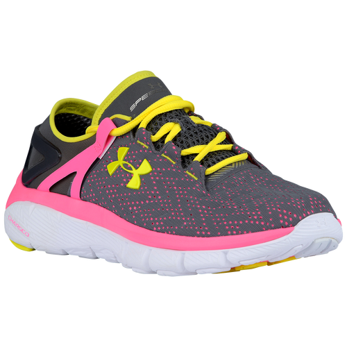 Under Armour Speedform Fortis - Women's - Running - Shoes - Graphite/Pink  Punk/Flashlight