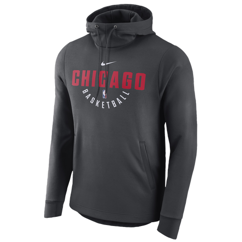 67c59bce2c9e Nike NBA Player Therma Practice Hoodie - Men s - Clothing - Chicago Bulls -  Anthracite