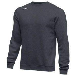 Nike Team Club Crew Fleece - Men's - Anthracite/White