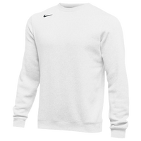 Nike Team Club Crew Fleece - Men's - All White / White