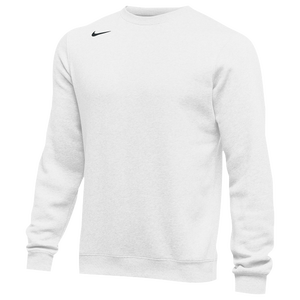 Nike Team Club Crew Fleece - Men's - White/Black