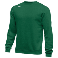 Nike Team Club Crew Fleece - Men's - Dark Green / Dark Green