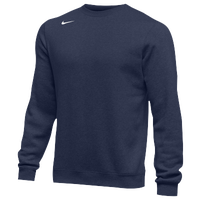 Nike Team Club Crew Fleece - Men's - Navy / Navy