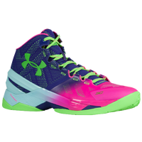 under armour curry 2 red pink