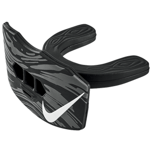 Nike Gameday Lip Protector Mouthguard - Adult - Black/White