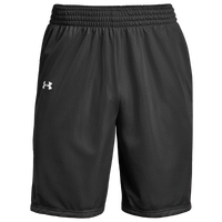 Under Armour Team Triple Double Shorts - Boys' Grade School - Black