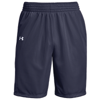 Under Armour Team Triple Double Shorts - Boys' Grade School - Navy