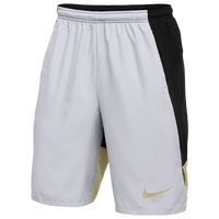 Nike Team Authentic Dry Woven Shorts - Men's - Silver / Black