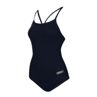 Arena Master Thin Strap Racerback Swimsuit - Women's - Navy / Silver