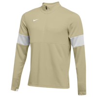 Nike Team Authentic Therma 1/2 Zip Top - Men's - Gold