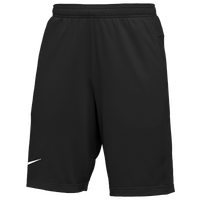 Nike Team Authentic Coaches Knit Shorts - Men's - Black