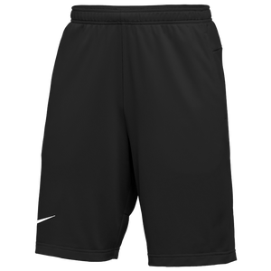 Nike Team Authentic Coaches Knit Shorts - Men's - Black/White