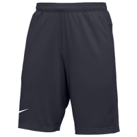Nike Team Authentic Coaches Knit Shorts - Men's - Grey