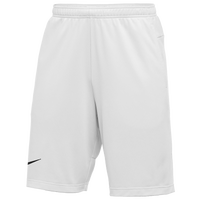 Nike Team Authentic Coaches Knit Shorts - Men's - White
