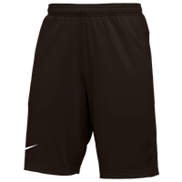 Nike Team Authentic Coaches Knit Shorts - Men's - Brown