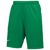 Nike Team Authentic Coaches Knit Shorts - Men's - Green