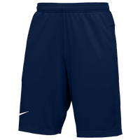 Nike Team Authentic Coaches Knit Shorts - Men's - Navy