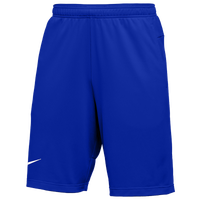 Nike Team Authentic Coaches Knit Shorts - Men's - Blue