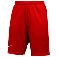 Nike Team Authentic Coaches Knit Shorts - Men's - Red