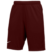 Nike Team Authentic Coaches Knit Shorts - Men's - Maroon