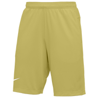 Nike Team Authentic Coaches Knit Shorts - Men's - Gold