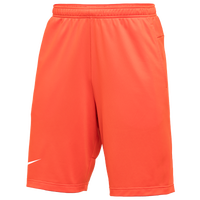 Nike Team Authentic Coaches Knit Shorts - Men's - Orange