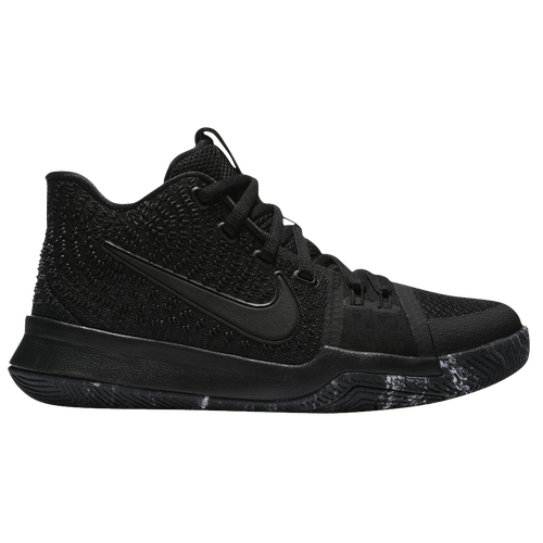 Nike Kyrie 3 - Boys\u0027 Grade School - Kyrie Irving - All Black / Black