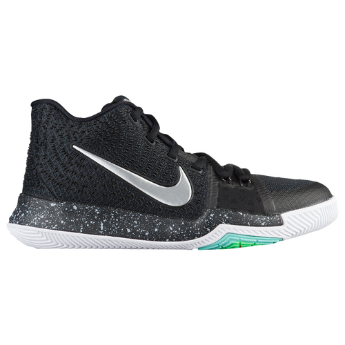 Nike Kyrie 3 - Boys' Grade School - Basketball - Shoes - Black/White/Total  Crimson/Dark Grey