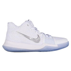 ... hot nike kyrie 3 boys grade school nike basketball irving kyrie uni  gold chrome white game 704cb3b81
