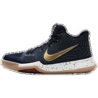 1dae1c52bc9 Nike Kyrie 3 - Boys  Grade School - Kyrie Irving - Navy   Gold