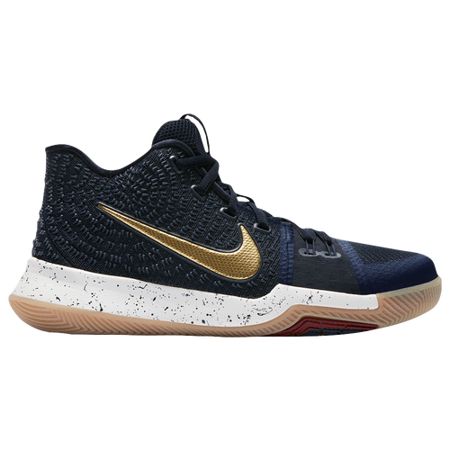 detailed pictures 31f03 5dd65 Nike Kyrie 3 - Boys  Grade School - Basketball - Shoes - Irving, Kyrie -  Obsidian Metallic Gold Summit White