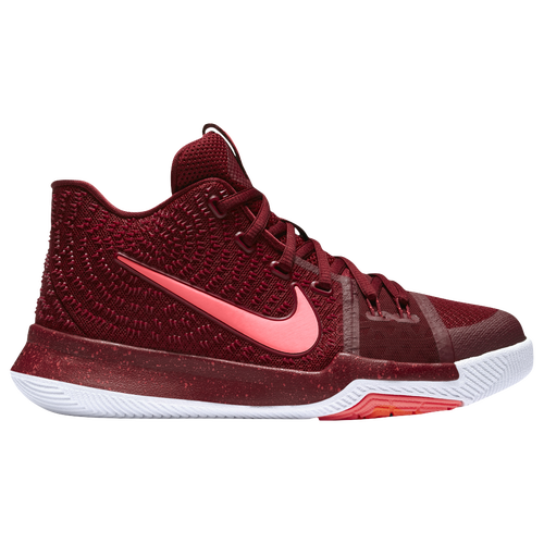 fd5a945d22b6 Nike Kyrie 3 - Boys  Grade School - Basketball - Shoes - Team Red Total  Crimson White Pink