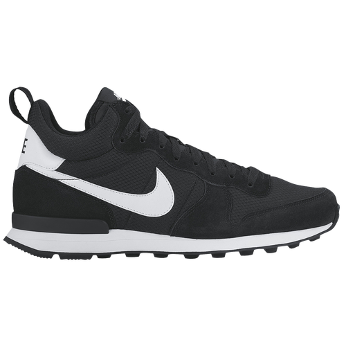 nike internationalist white and black