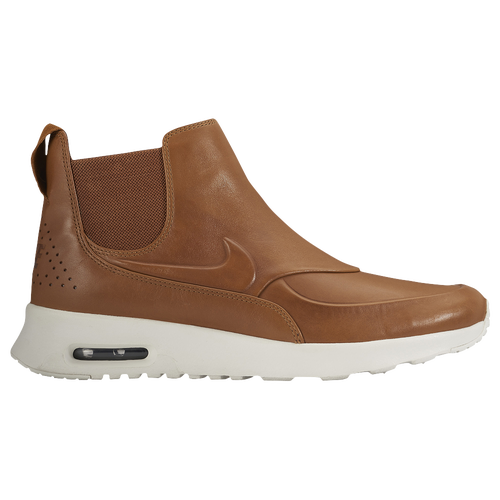 nike air max thea mid s casual shoes ale brown ale