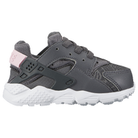 nike huarache gray and pink