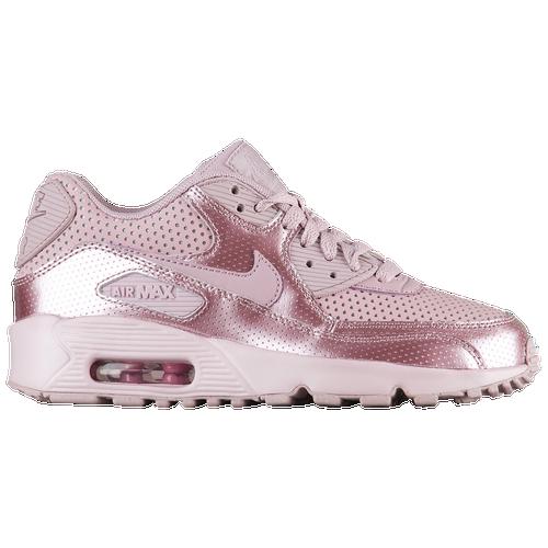 best sneakers 7fbba 51894 Nike Air Max 90 - Girls  Grade School - Nike - Casual - Elemental Rose Elemental  Rose Elemental Rose   Micro Perfs