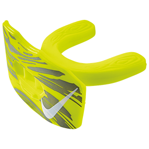 Nike Gameday Lip Protector Mouthguard - Adult - Volt/White
