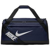 Nike Brasilia Medium Duffel - Navy / Black