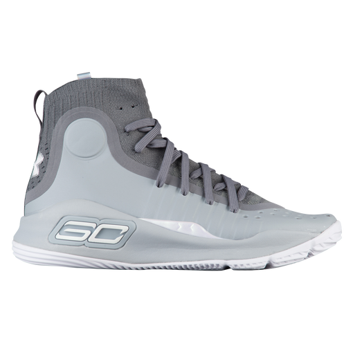 Under Armour CURRY 4 - Basketball shoes - grey
