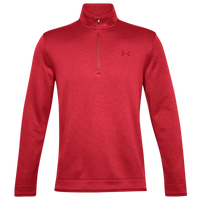 Under Armour Storm Sweater Golf 1/2 Zip - Men's - Red