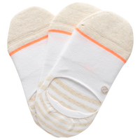 Stance 3 Pack Super Invisible 2.0 Socks - Women's - White / Off-White