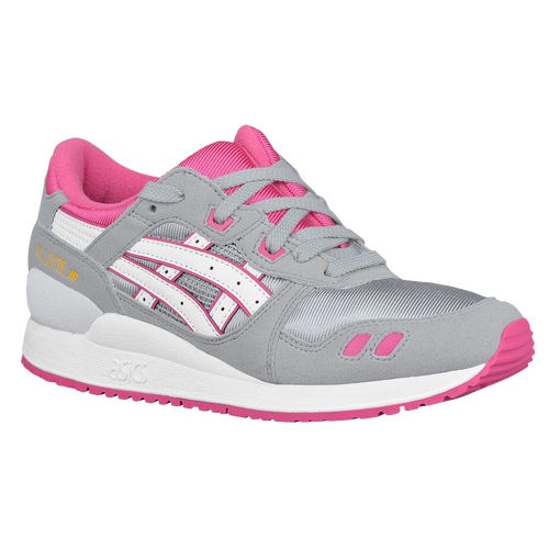 ASICS Tiger GEL-Lyte III - Girls' Grade School - Running - Shoes - Light  Grey/White
