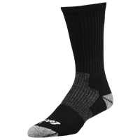 Eastbay EVAPOR Performance Crew Socks - Men's - Black / Black