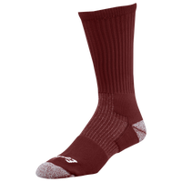 Eastbay EVAPOR Performance Crew Socks - Men's - Maroon / Maroon