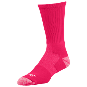 Eastbay EVAPOR Performance Crew Socks - Men's - Bright Pink