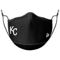 New Era MLB Logo Face Mask - Kansas City Royals - Black