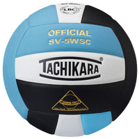Tachikara SV-5WSC Volleyball - Light Blue / Black