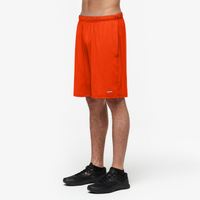Eastbay Evapor Pocketed Training Short 2.0 - Men's - Orange / Orange